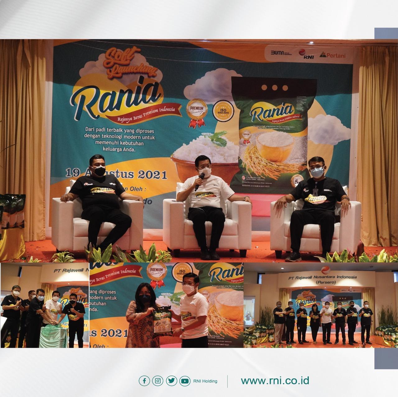 RNI Holding Luncurkan Beras Premium Rania, Rp 12.800 Per Kg